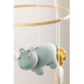 Carrousel pour lit bébé en coton Binca Kids, image miniature 2