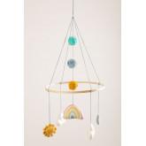 Carrousel pour lit de bébé Izaro en coton pour enfants, image miniature 2