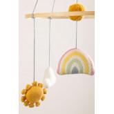 Carrousel pour lit de bébé Izaro en coton pour enfants, image miniature 3