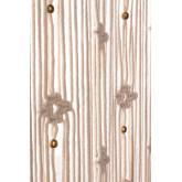 Rideau en macramé (215x110 cm) Luana, image miniature 5
