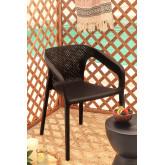 Chaise d'extérieur Frida avec accoudoirs, image miniature 1