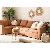 Canapé-lit d'angle 4 places Anders en tissu, image miniature 1