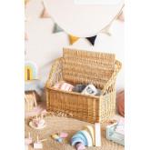 Coffre à jouets Kulti Kids en osier, image miniature 2