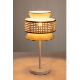 Lampe de table en rotin Yereh, image miniature 4