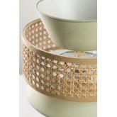 Lampe de table en rotin Yereh, image miniature 6