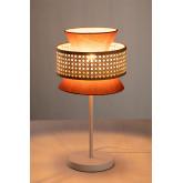 Lampe de table en rotin Yereh, image miniature 2