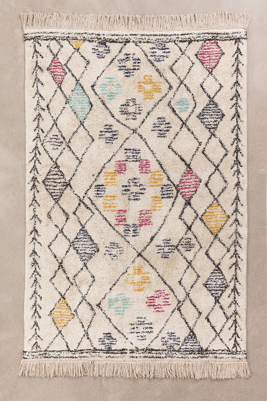 Tapis en coton (196x120 cm) Jalila, image de la galerie 1