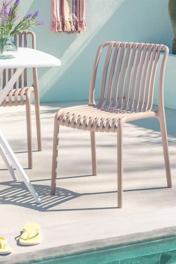 Chaise de jardin Wendell