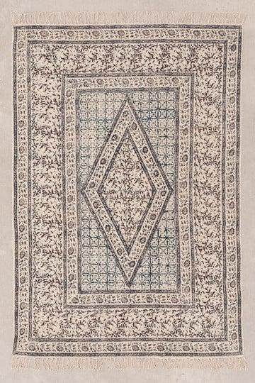 Alfombra en Algodon (182x122 cm) Kunom