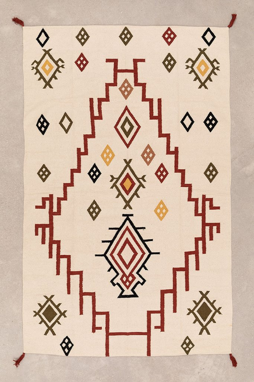 Tapis en coton (243x161 cm) Rilel, image de la galerie 1