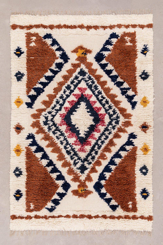 Tapis en laine et coton (246x165 cm) Rimbel, image de la galerie 1