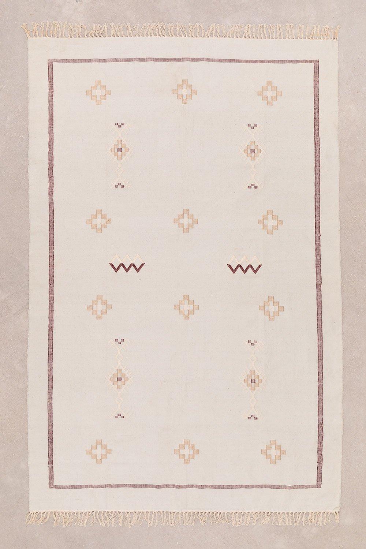 Tapis en coton (240x160 cm) Lesh, image de la galerie 1