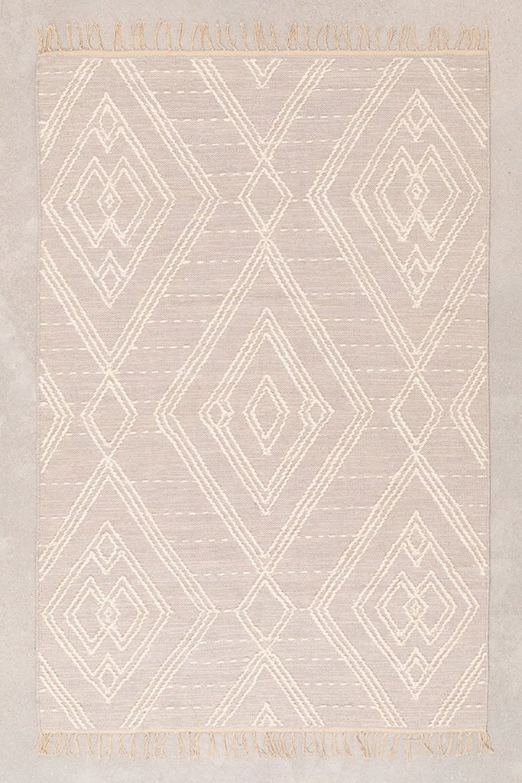 Tapis en coton (180x119 cm) Llides, image de la galerie 1