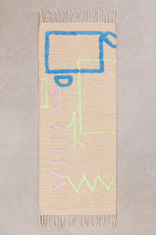 Tapis en coton (145x52 cm) Fania, image de la galerie 1