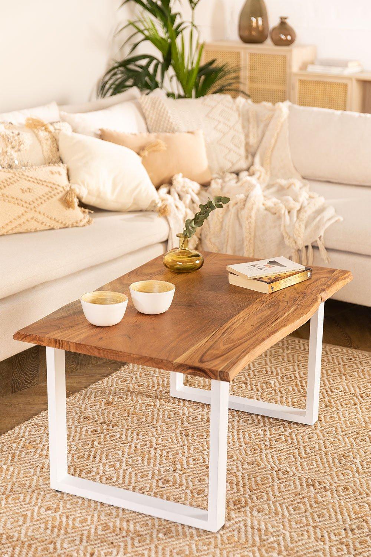 Table basse en bois recyclé Sami, image de la galerie 1