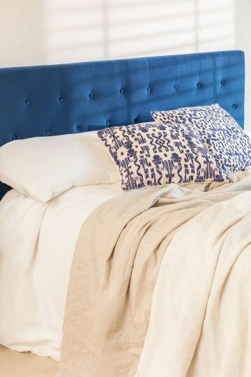 Tête de lit en velours Tonie