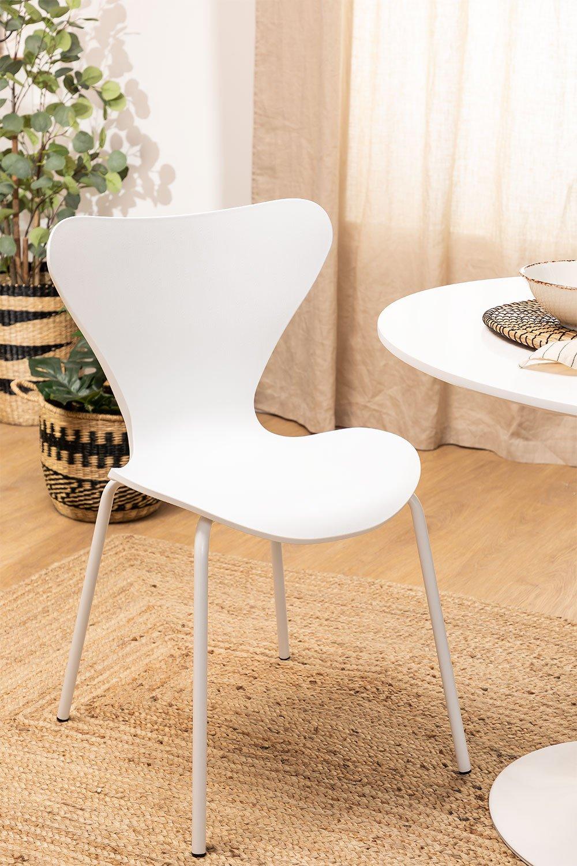 Chaise de salle à manger de style Uit Colors , image de la galerie 1