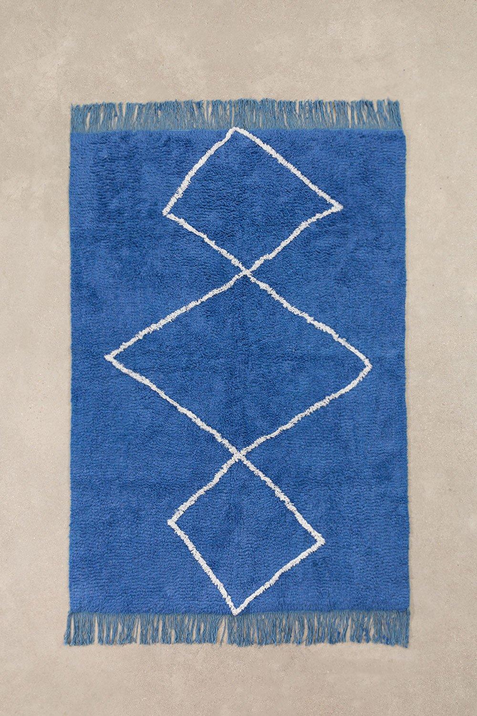 Tapis en coton (204x125 cm) Vlü, image de la galerie 1