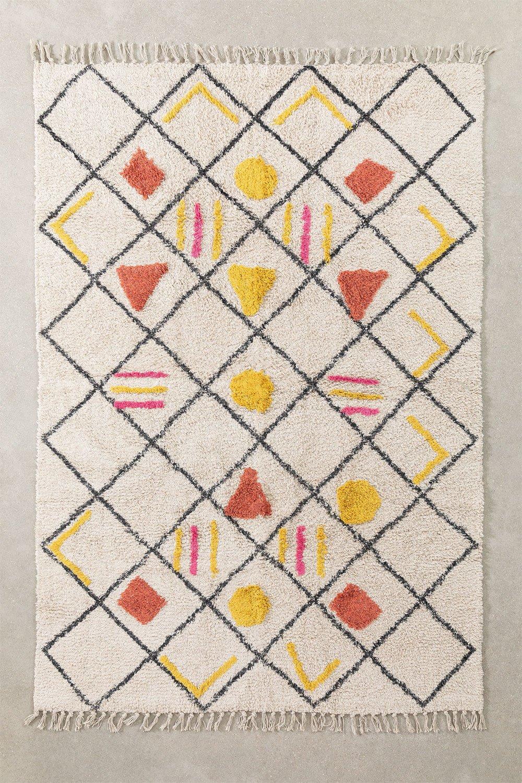 Tapis en coton (194x122 cm) Geho, image de la galerie 1