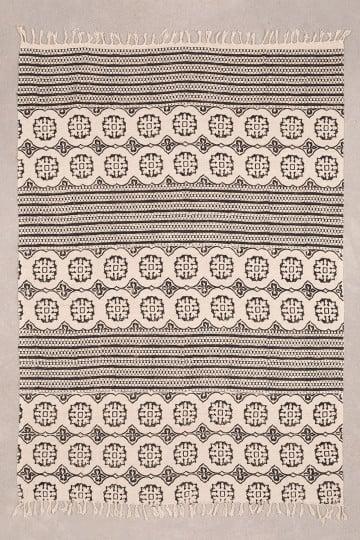 Couverture en coton à carreaux Viana