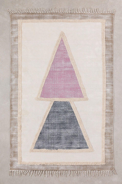 Tapis en coton (186x121 cm) Pinem, image de la galerie 1