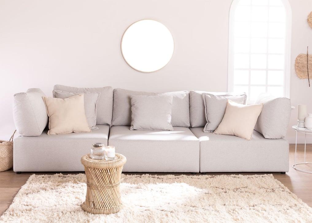 Canapé modulable 3 pièces avec 2 fauteuils d'angle Kata, image de la galerie 1