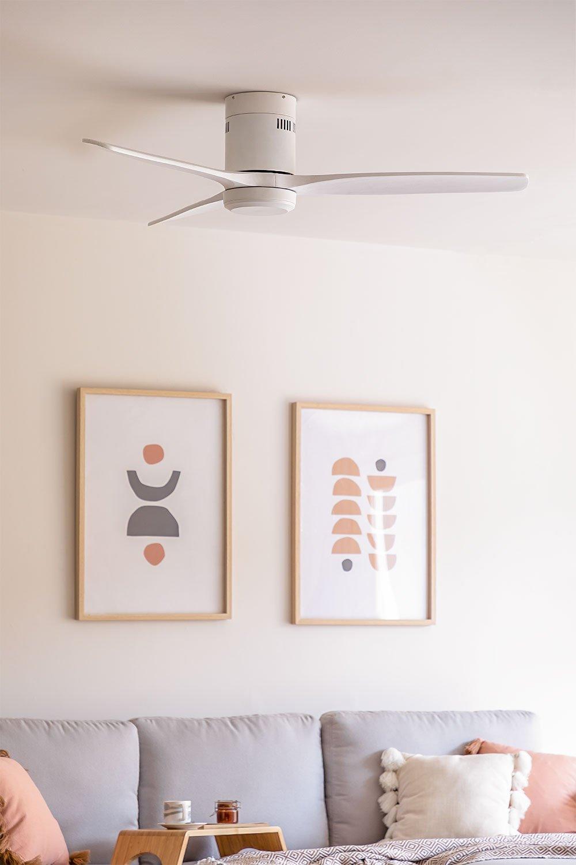 Windcalm studio DC Blanc - Ventilateur de plafond 40W - CREATE, image de la galerie 1