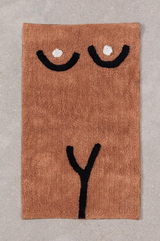 Tapis de bain en coton (40x70 cm) Luet, image de la galerie 1