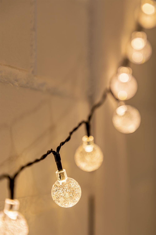 Guirlande LED Orixa avec Chargeur Solaire (2 m), image de la galerie 1