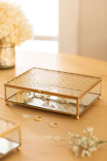 Boîte à bijoux en cristal Florence