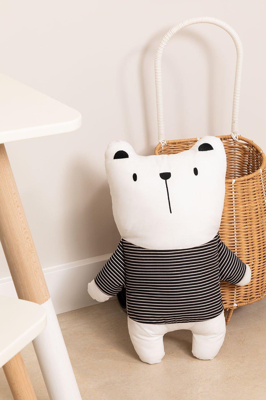 Ours en peluche en coton Boo Kids, image de la galerie 1