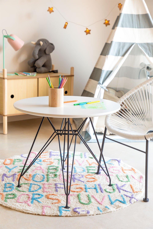 Table Scand Brich [KIDS!]  Ø60 cm, image de la galerie 1
