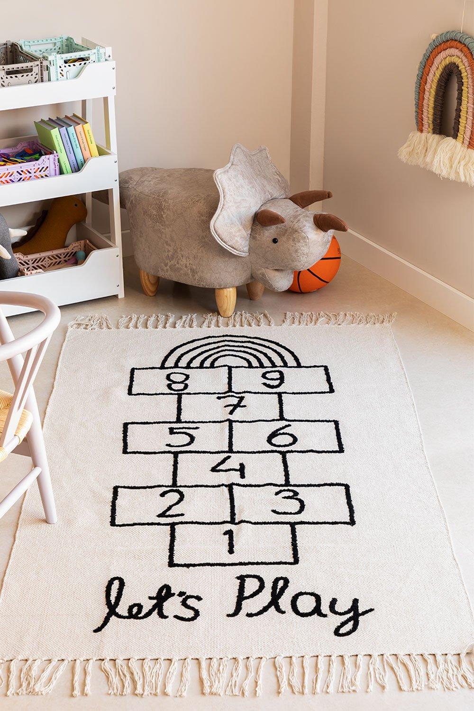 Tapis rectangulaire en coton (150x90 cm) Sambori, image de la galerie 1199030