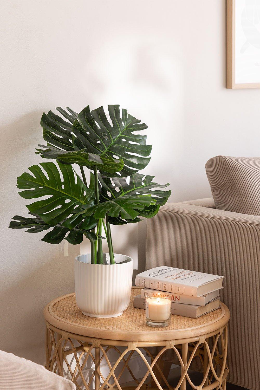Plante artificielle décorative Monstera, image de la galerie 1