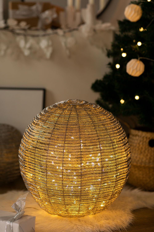 Boule lumineuse LED en Fer pour guirlande, image de la galerie 1