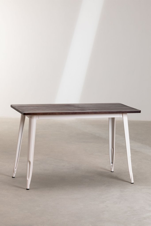 Table LIX Mate en Bois (120x60), image de la galerie 1