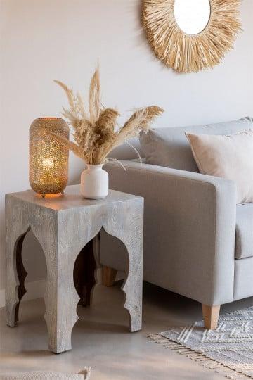 Table d'appoint en bois Casablanca