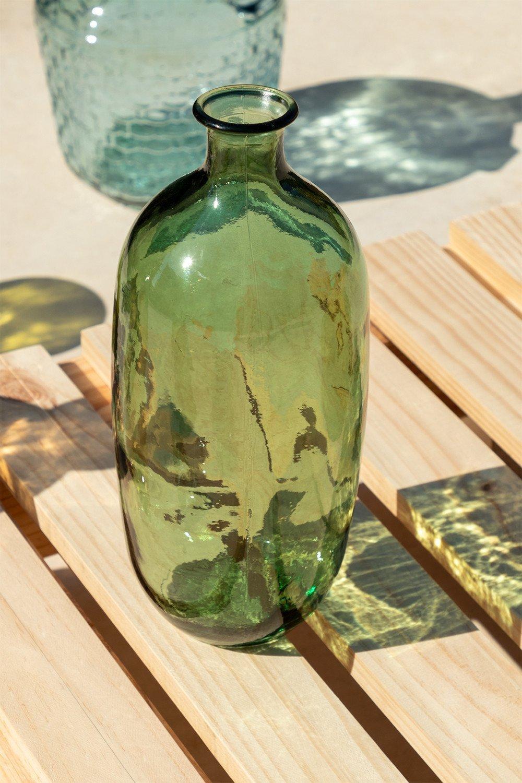 Bouteille en verre recyclé Lumas, image de la galerie 1