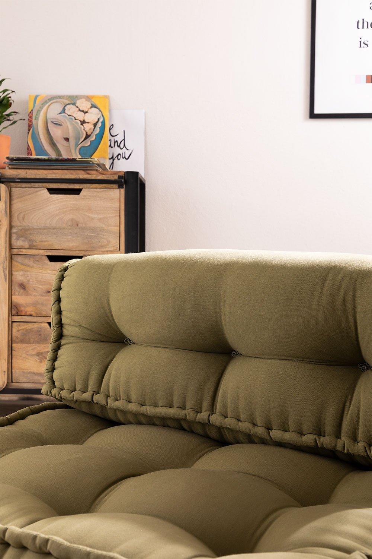 Dossier pour canapé modulable en coton Yebel, image de la galerie 1