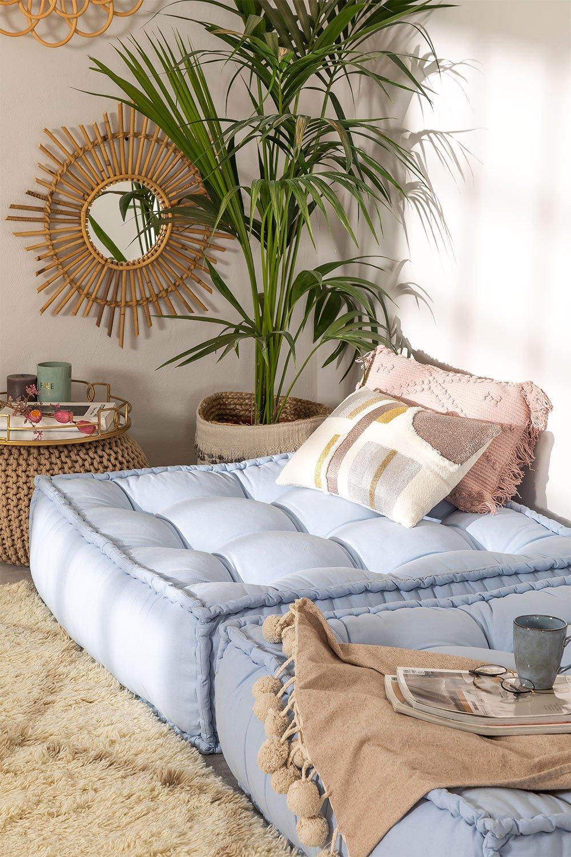 Coussin de canapé modulable en coton Yebel, image de la galerie 1