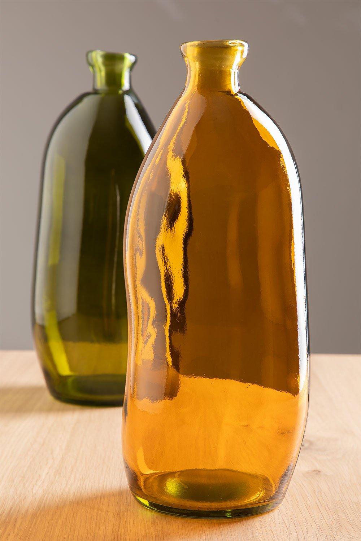 Vase en verre recyclé Boyte , image de la galerie 1