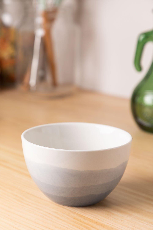 Bol en porcelaine Ø12cm Mar, image de la galerie 1