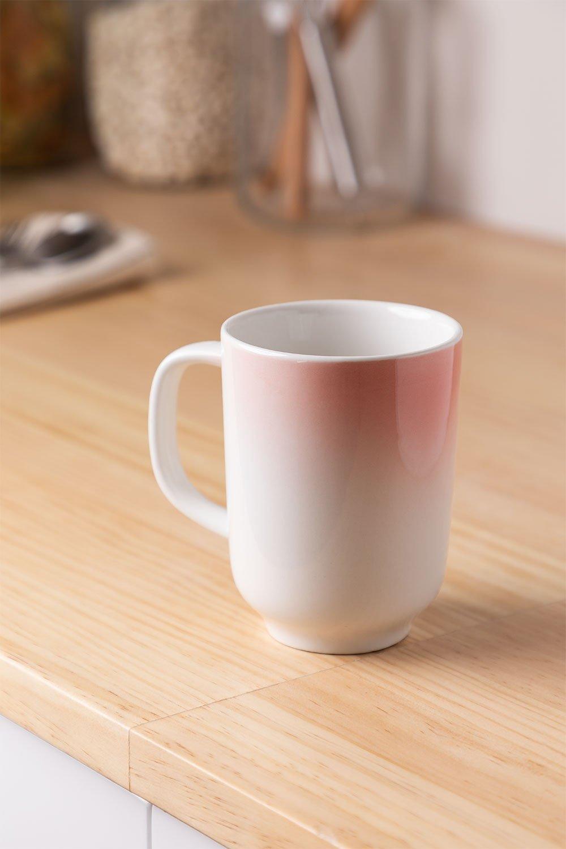 Pack de 4 mugs en porcelaine 260 ml Suni, image de la galerie 1