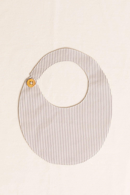 Bavoir rond en coton pour enfants Doty, image de la galerie 1