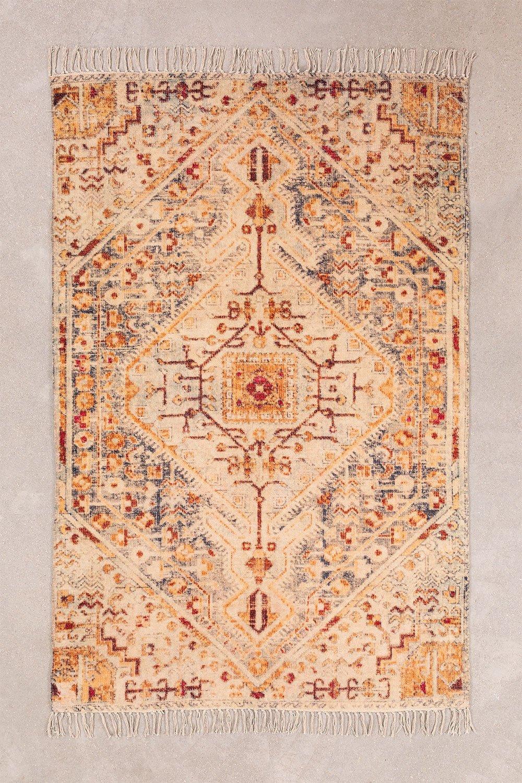Tapis en coton (181,5x117 cm) Raksi, image de la galerie 1