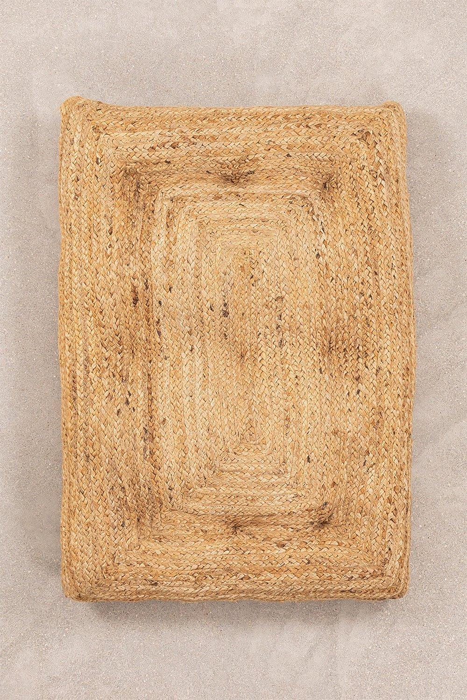 Futon en jute (60 cm x 90 cm) Fakip, image de la galerie 1