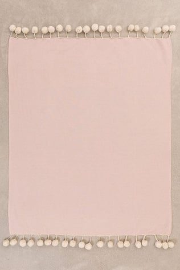 Couverture en coton à carreaux Olis