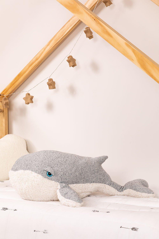 Peluche baleine en coton Wili Kids, image de la galerie 1