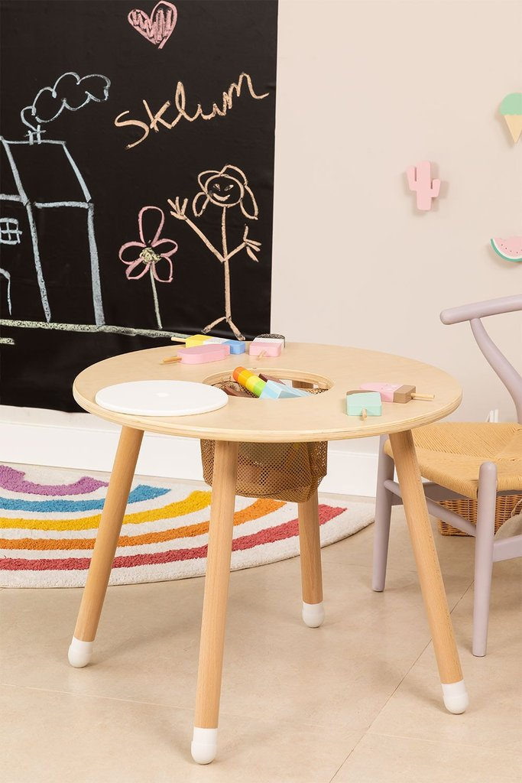 Table de jeu en bois pour enfants Plei, image de la galerie 1