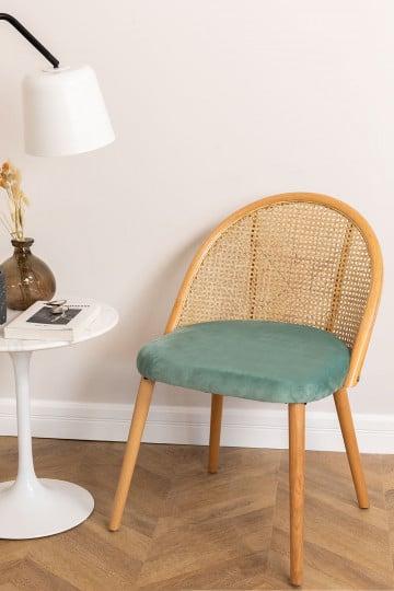 Chaise de salle à manger en bois Kloe